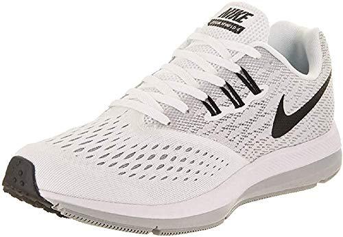 Nike Zoom Winflo 4, Zapatillas de Running para Mujer, Multicolor (White/Black-Wolf Grey), 39 EU