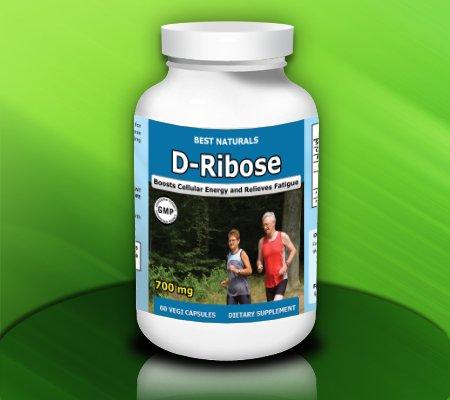 Best Naturals D-Ribose, 700mg, 60 Veggie Capsules