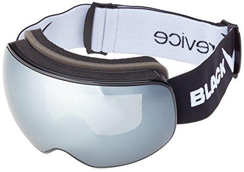 Black Crevice Magnetskibrille Skibrille, Black/Grey, L (58-61)