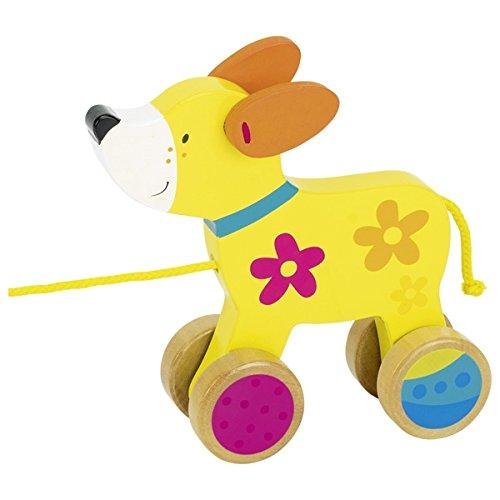 Goki 4013594549158 Miniaturfahrzeug-Ziehtier Susibelle Hund Nachziehtier