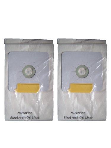 6 Central Vacuum Cleaner bags For Nutone Broan Cyclovac Dynavac Easyflo Eureka Filteraire Frigidaire Housekeeper/Rittenhouse Husky Miami Carey Singer Smart Soluvac Vacuflo 391, CF3918, 110025, 110056, Nutone-391, 44186 6 gallon