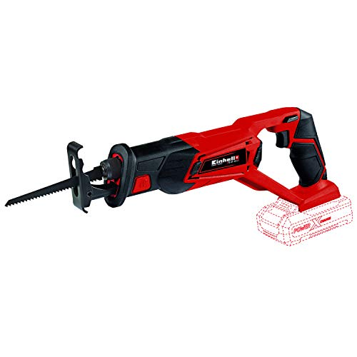 Einhell TE-AP Power X-Change 18-Volt Cordless 2600-SPM Reciprocating Saw, 1-Inch Stroke Length w/6-Inch Wood Saw Blade, Tool-less Quick-Change System, Tool Only (Battery and Charger Not Included)
