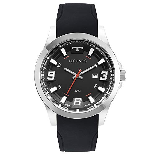 Relógio Technos Masculino Ref: 2115mxs/2p Racer Prateado