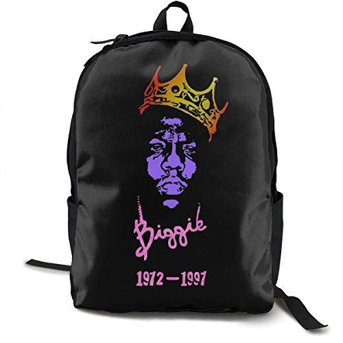 XCNGG T-shirt Hip Hop Biggie Zaino classico da uomo e da donna