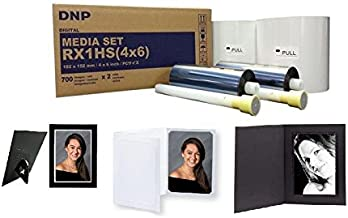 "DNP 2x Print Media for DS-RX1HS High Speed Dye Sub Printer - 4x6"" 700 Prints Per Roll; 2 Rolls Per Case (1400 Total Prints)"