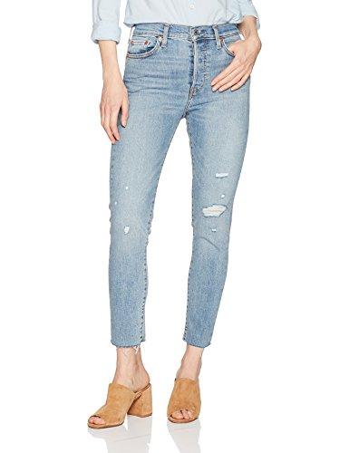 Levi's Women's Plus Size Wedgie Skinny Jeans, Blue Spice, 36 (US 16)