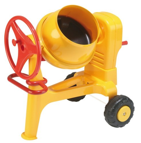 Wader Quality Toys Construction Cement Mixer, Yellow/Black