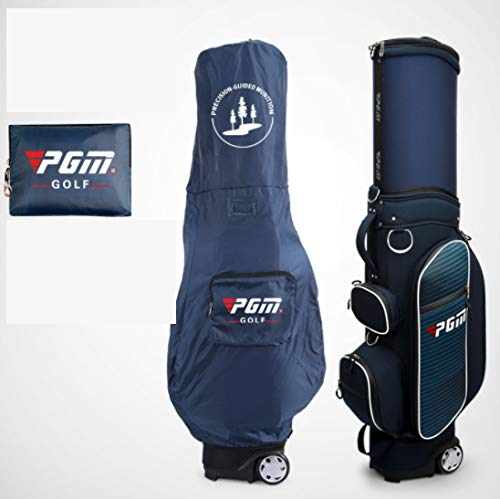 Best Deals! POSMA PGM-QB045BLU Travel Bag, Golf Club Carry Bag with Wheeled