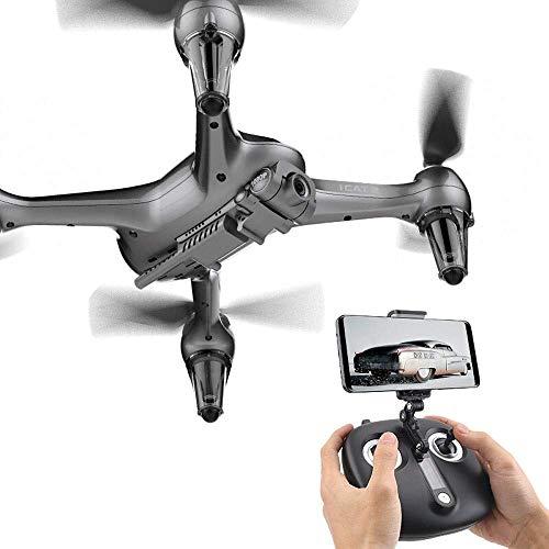 Tragbare hochauflösende Luftaufnahmen, Mobiltelefonbetrieb, Kamera WiFi FPV Quadcopter Drohne mit 8MP 1920P Live-Video für Anfänger Kinder Mobile APP Control Selfie-Modus, One Key Start RC