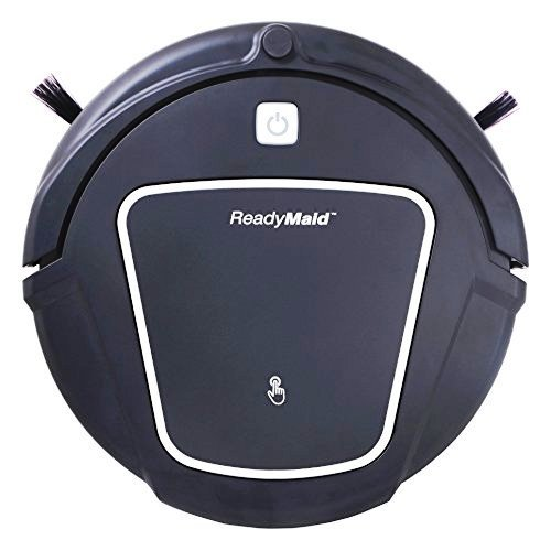 ReadyMaid Robotic Vacuum Cleaner with Large Dry/Wet Mop & Virtual Wall Device