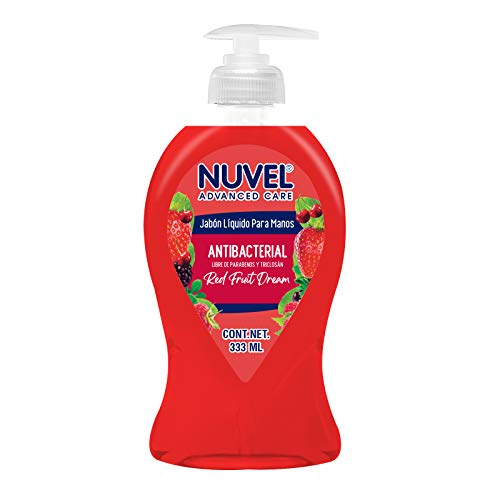 Jabon Liquido Antibacterial marca Nuvel