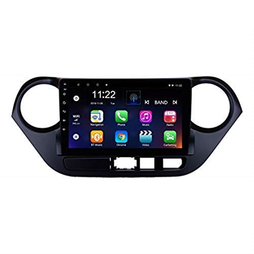 9 Inch Android 8.1 Head Unit GPS Car Radio for Hyundai I10 LHD 2013-2016 with WiFi Blutooth USB Support Mirror Link OBD2 AUX
