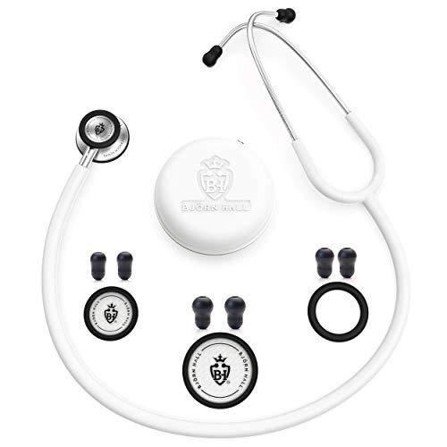 BJÖRN HALL Scandinavian Design White Stethoscope...