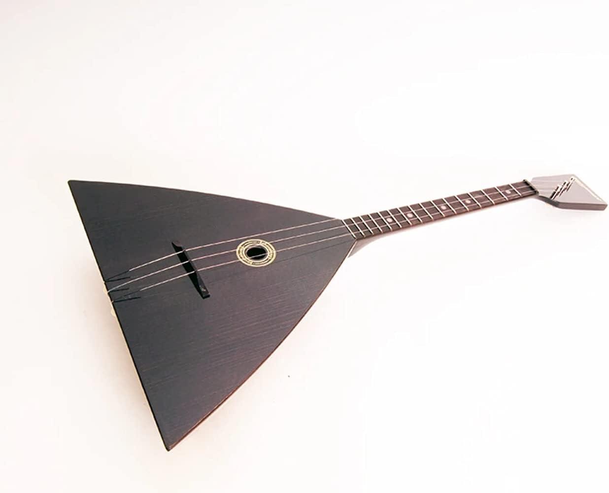 Black New arrival Fedor Balalaika 3 strings 3S-BF Balalaiker Finally resale start
