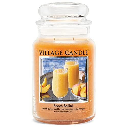 Village Candle Peach Bellini candela 26 oz 170 ore di durata