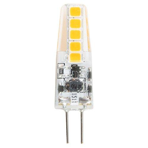Heitronic LED Leuchtmittel G4, 2W, warmweiß, Stiftsockel, Abstrahlwinkel 300° EEK: A++