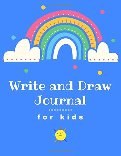 Write and Draw Journal for Kids: A Drawing And Writing Primary Notebook for K-2, Children ages 5-8 (