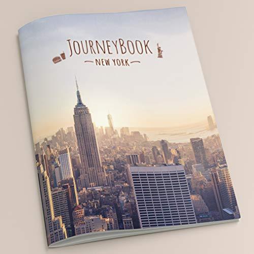 New York Reisetagebuch – Für die schönsten Erinnerungen an den Städtetrip – DIN A5, 40 Seiten