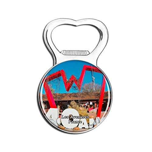 Weekino Les Avenieres Francia Walibi Rhone-Alpes Magnete del Frigorifero Apribottiglie di Birra Regalo di Souvenir da Viaggio
