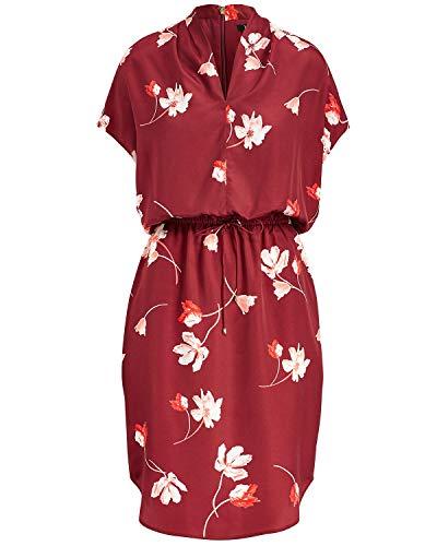 LAUREN RALPH LAUREN Womens Bolorma Floral Print Wear to Work Dress Red 6