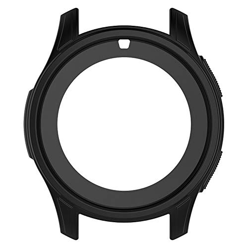 X-Best Custodia per Samsung Galaxy Watch 46mm, Accessorio in TPU di Ricambio Custodia Protettiva in Silicone per Custodia Protettiva Antiurto e infrangibile per Samsung Galaxy Watch Smart Watch 46mm