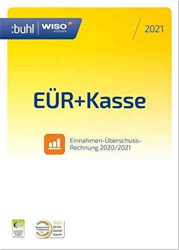 WISO EÜR+Kasse 2021: Für die Einnahmen-Überschuss-Rechnung 2020/2021 inkl. Gewerbe- und Umsatzsteuererklärung | 2021 | PC | PC Aktivierungscode per Email