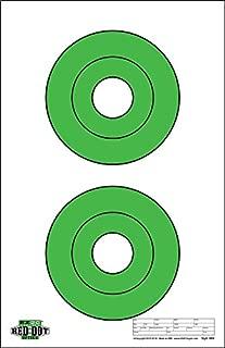 EZ2C Red Dot Optics Targets: Two 6.5