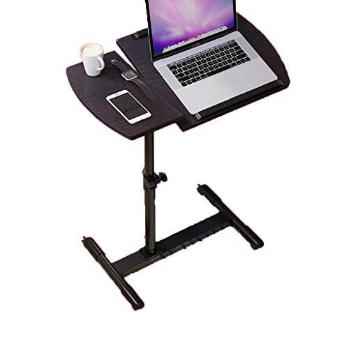 JD Bug Laptop tafel staande mobiele hoogte Verstelbare kantelhoogte, salontafel Studio tafel Mobile Station Sofa nachtkastje Lazy tafel met wielen Gemakkelijk te monteren F