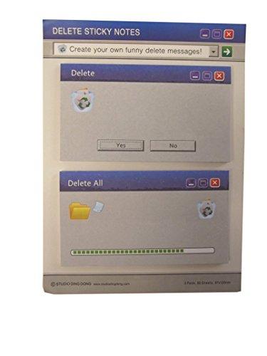 Büro Gadget Sticky Notes Memo-Klebenotizen für Technikfans, Geeks, Programmierer, ...