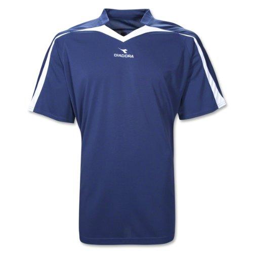 Diadora Soccer Men's Rigore Jersey, Navy, Small