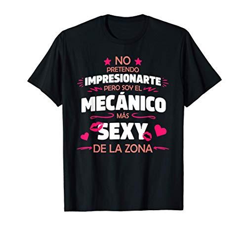 Hombre Frase Divertida y Original Para Mecánico Con Humor Camiseta