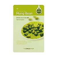 [ザフェイスショップ] THE FACE SHOP [リアルナチュラル マスクシート] (Real Nature Mask Sheet) (Mask Sheet Mung Bean 30枚) [並行輸入品]
