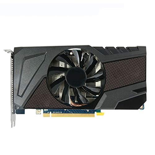 LBWNB Tarjeta De Video Ajuste Fit For Sapphire Radeon HD 7750 1GB Tarjetas De Video GPU AMD HD7750 1 GB GDDR5 Tarjetas De Pantalla De Gráficos PC Juego De Computadora