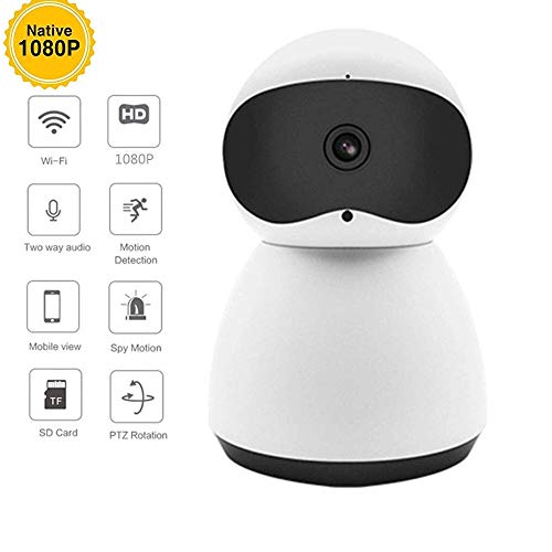 Mengen88 IP Draadloze WiFi-camera Afstandsbediening 1080p HD Night Vision Beveiliging Twee-weg stem Cloud opslag, voor Home Veiligheid Monitoring