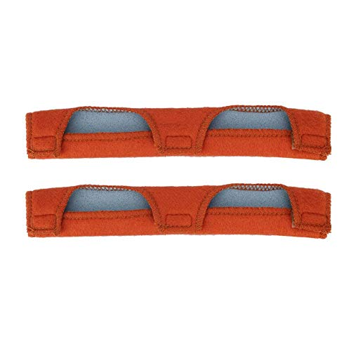 Simlugn Schutzhelm Schweißband, 2 Stück waschbar Schweißhelm Tröster Pad Soft Air Cushion Schweißabsorber Match mit den meisten Helm