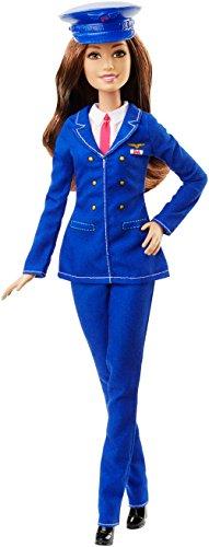 Barbie DHB66 - Bambola Pilota, Multicolore