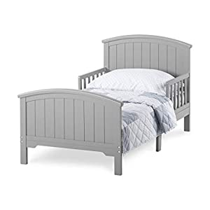Forever Eclectic Hampton Arch Top Toddler Bed, Cool Gray