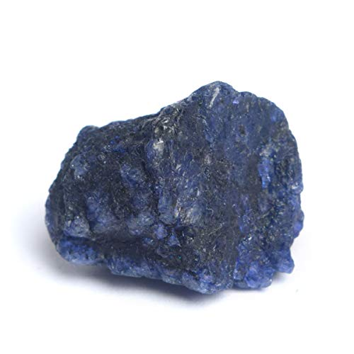 Untreated Raw Rough Sapphire 47.00 Ct. Certified Uncut Healing Crystal Natural Blue Sapphire Gem