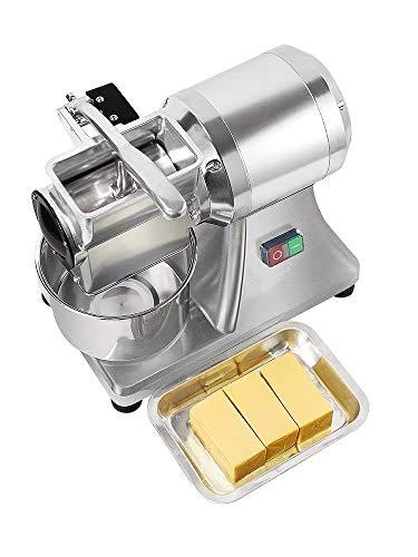 LWQ Queso Amoladora, Electric Industrial Jabón Picadora Rallador De Queso Máquina De Pulir Queso Mini Rallador De Acero Inoxidable