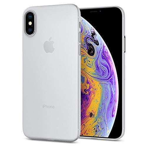 Spigen 063CS24909 Air Skin Kompatibel mit iPhone XS Hülle, iPhone X Hülle, Ultra Dünn Federleicht Handyhülle Matte Schutzhülle Slim Case Soft Clear