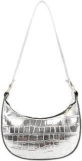 ARVALOLET Ein-Schulter-Unterarmtasche, Achsel-Tasche, tragbare PU-Umhängetasche, Einzel-Umhängetasche, Handtasche, modisch...