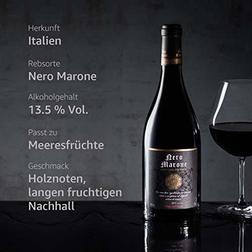 Nero Marone Rotwein aus Italien (6 x 0.75 l) - 2
