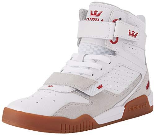 Supra Unisex-Erwachsene Breaker Hohe Sneaker, Weiß (White/Rose-Gum 173), 39 EU