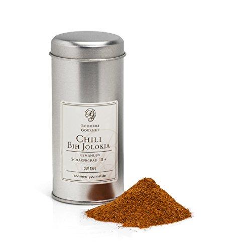 Boomers Gourmet - Chili Bih Jolokia, Schärfegrad 10+ - Gewürzdose - 10 g
