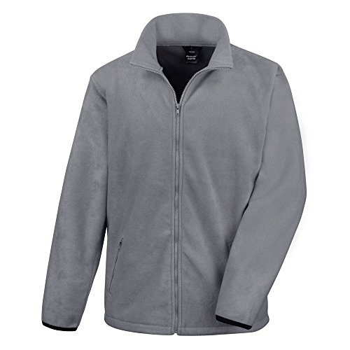 Result Core Herren Fleece-Jacke (2XL) (Grau)