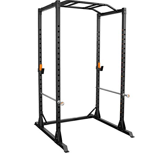 GRIND Fitness Alpha3000 Power Rack, Squat Rack with Barbell Holder