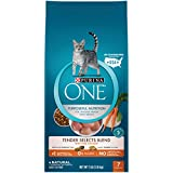Purina ONE Natural Dry Cat Food, Tender Selects Blend With Real Chicken - 7 lb....