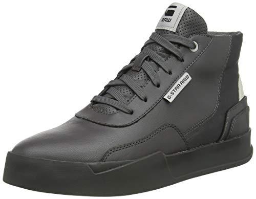 G-STAR RAW Mens Rackam Revend Mid Sneaker, Rover 8708-306, 46 EU