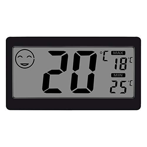 Gellvann Digital-Innen-Thermometer-Hygrometer-Temperatur-und Feuchtigkeits-Anzeige mit 3.3-Zoll-LCD-Tisch-stehendem Magneten, der f¨¹r Haushalts-B¨¹ro-Gymnastik-K¨¹Che anbringt (1)