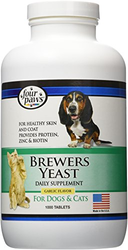 Four Paws Brewers Yeast Garlic Flavored Dog and...